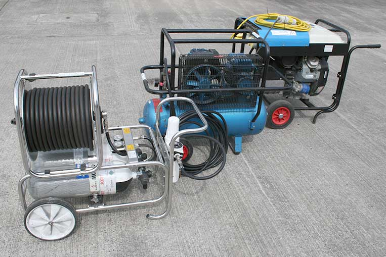 Modulair Trolley, Compressor and Generator