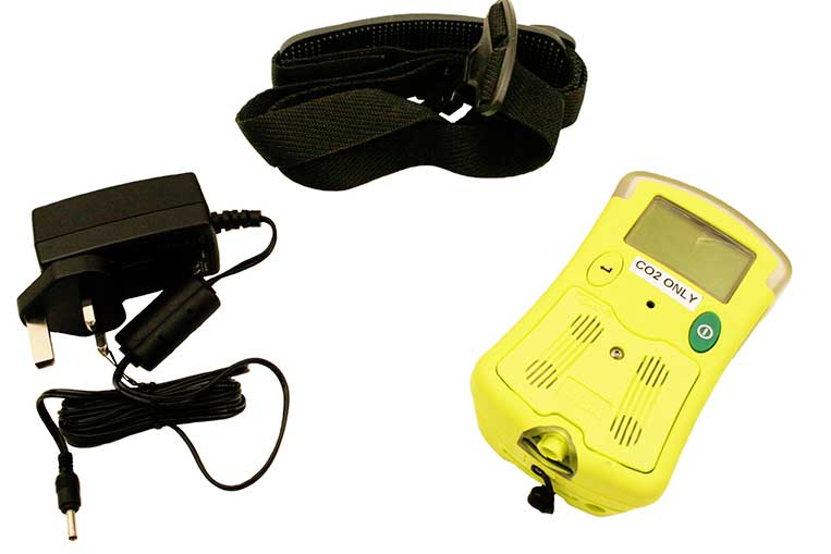 GMI CO2 Monitor, Charger and Neck Strap