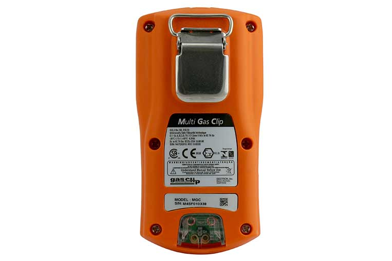 MGC IR Gas Detector Rear View