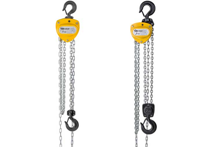 Yale VSIII Chain Blocks