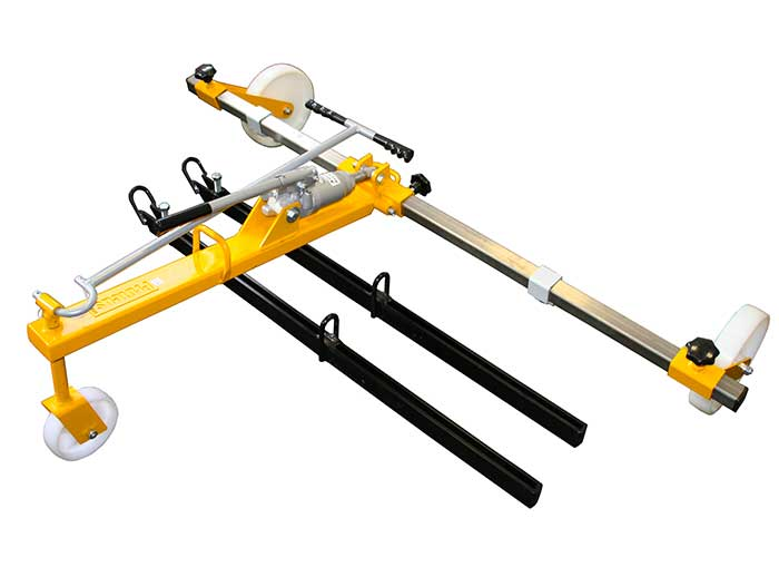 Proteus Handylift Texas Hydraulic Cover Lifter & spreader bar