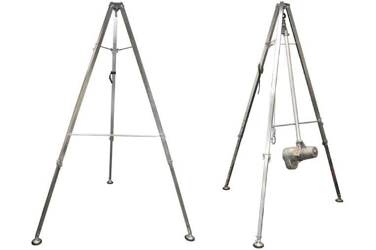 Cadmium Plated Dual Use Tripod for Didsbury