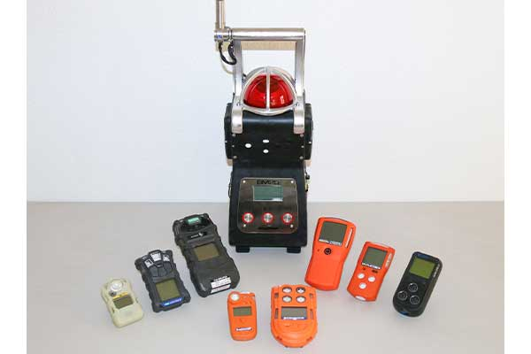 Selection of gas detectors